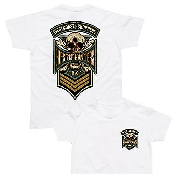 West Coast Choppers T-Shirt Hipster Hunters White
