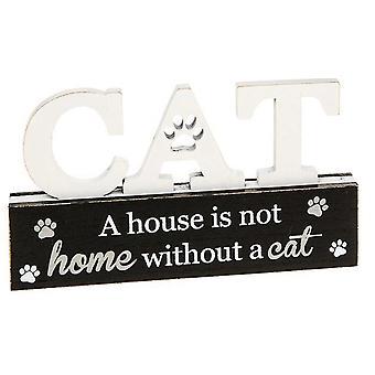 Purrfect Pals Cat Table Plaque House Home