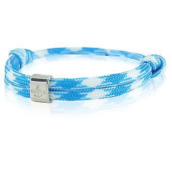 Skipper bracelet surfer band node maritimes wristband blue/white 6776