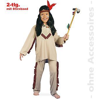 Indiske barn indiske kostyme Apache kostyme barn kostyme rød hud