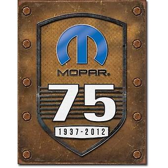 Mopar 75te jubileum metall tegn