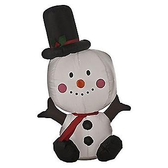 Battery Operated Inflatable Snowman Christmas Decoration