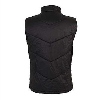 BLK ospreys rugby players winter gilet [black]