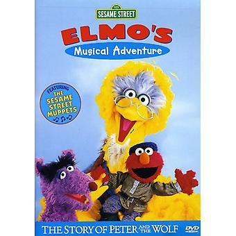 Sesame Street - Elmo's Musical Adventure-Story of Peter & the Wolf [DVD] USA import