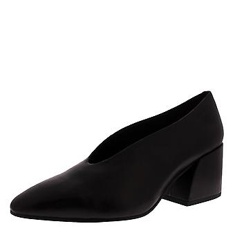 Womens Vagabond Olivia Black Work Pointed Toe Block Heel Office Shoes