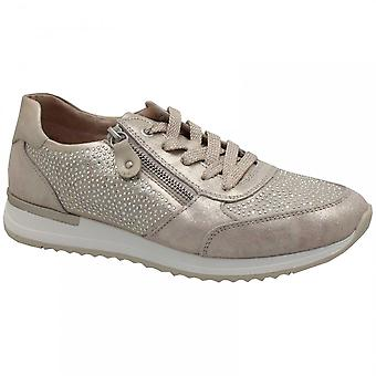 Remonte Diamonte Detail Lace Up Trainer