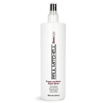 Paul Mitchell firma stijl bevriezen en Shine Super Spray 250 ml