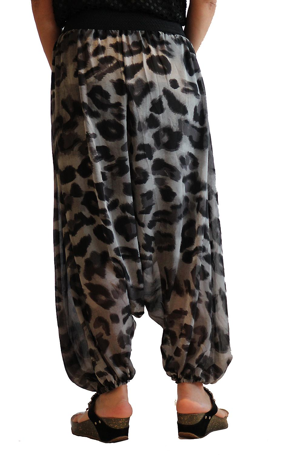 Waooh - Fashion - Sarouel printed leopard and belt