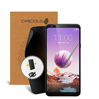 Celicious Privacy 2-Way Anti-Spy Filter Screen Protector Film Compatible with LG Stylo 4