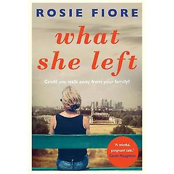 What She Left by What She Left - 9781760292508 Book