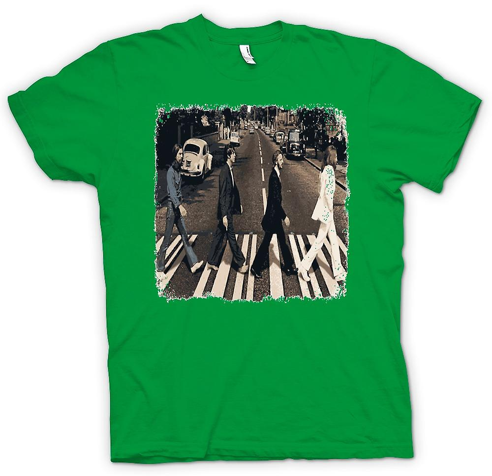 Mens T-shirt - Beatles - Abbey Road - Album Art