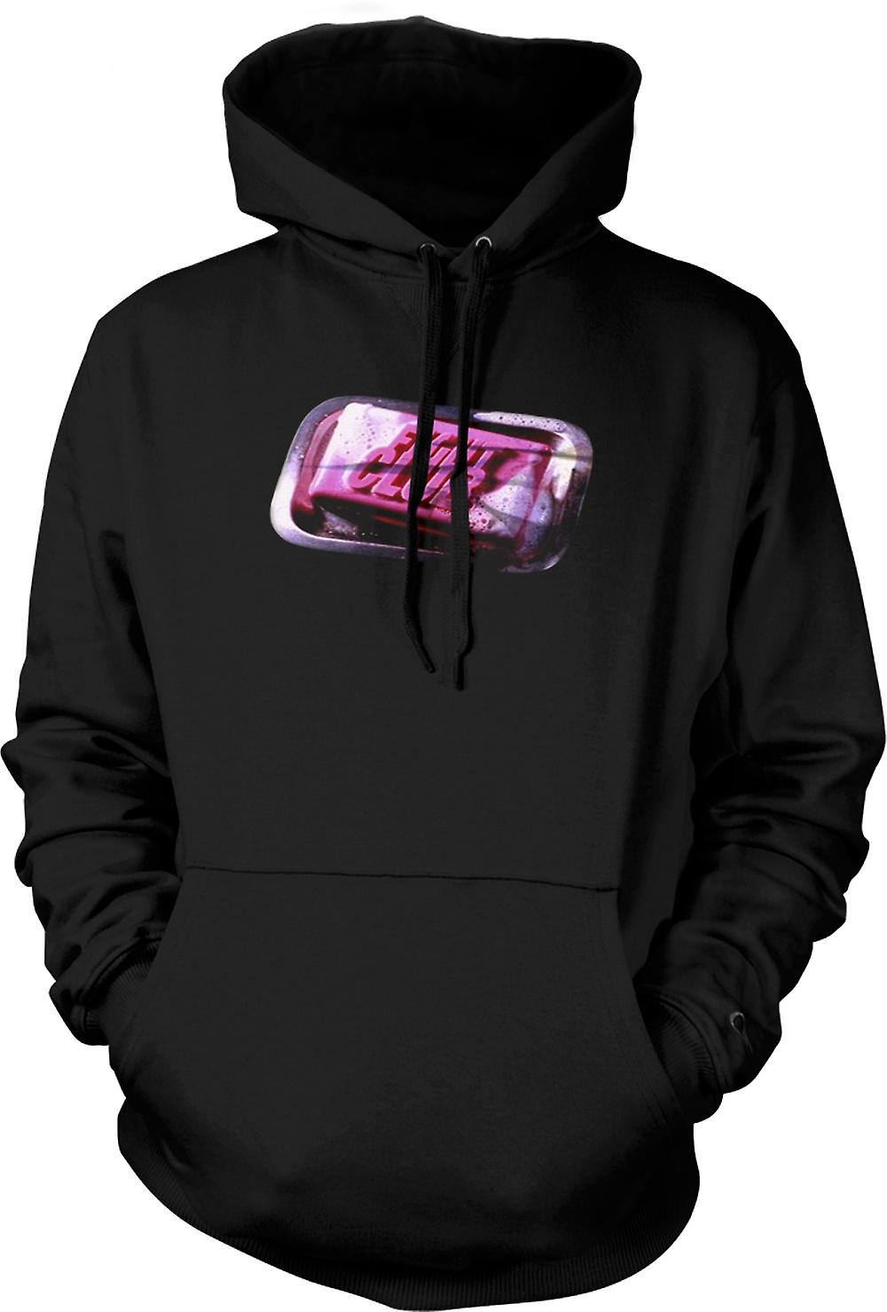 Mens Hoodie - Fight Club - Soap - Film