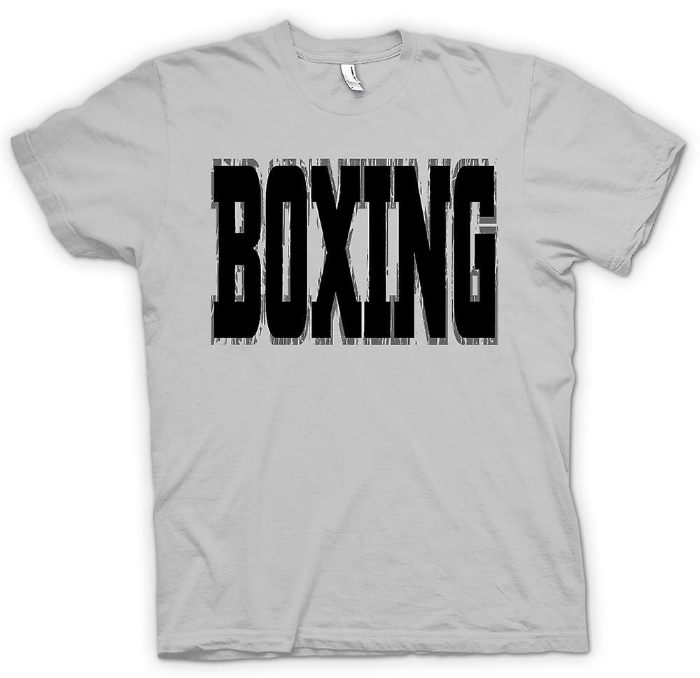 Hommes T-shirt - Boxe - Art Martial - Slogan