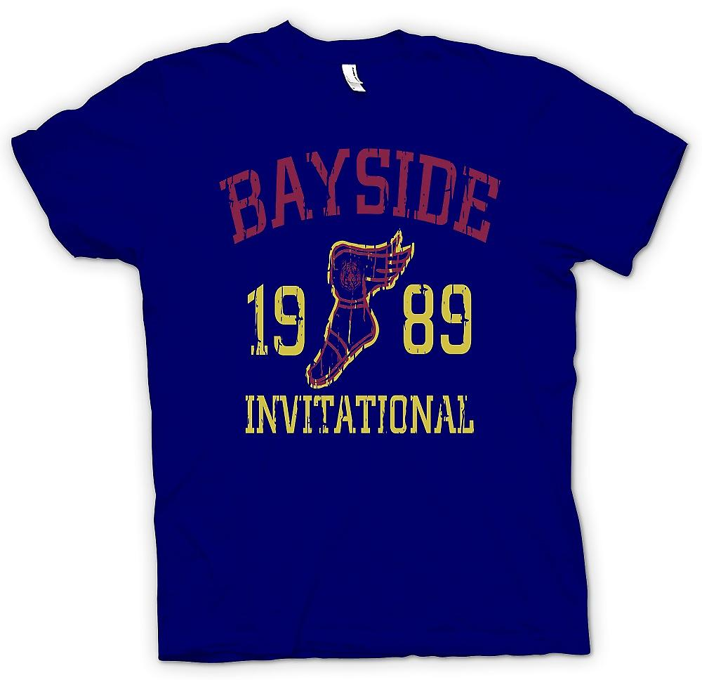Mens t-skjorte - Bayside Invitational 1989 - Funny