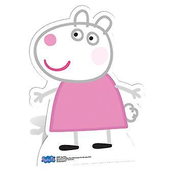 Recorte de papelão Lifesize Suzy ovelhas / cartaz - Peppa Pig
