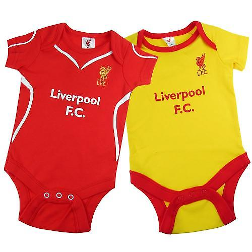 Liverpool F.C. 2 Pack Body 9/12 meses