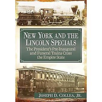 Nova York e os especiais de Lincoln - do pré-Inaugural Presidente e