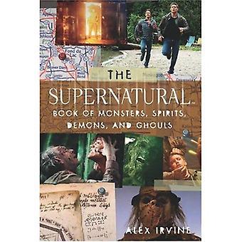 Övernaturliga bok monster, demoner, andar och Ghouls