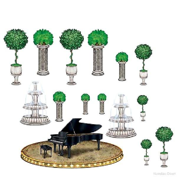 Instant Theme Piano and Decor Props