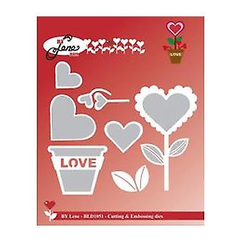 By Lene Love Flower Cutting & Embossing Die (BLD1051)