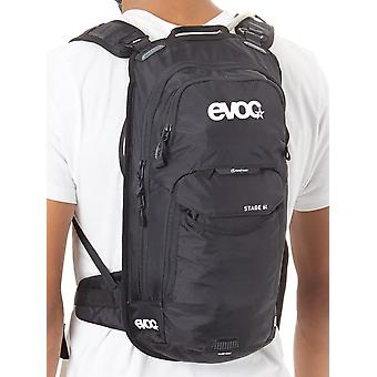 Evoc Black 2019 Stage - With 2 Litre Bladder - 6 Litre Hydration Pack with Reser
