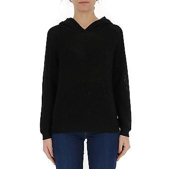 Laneus Black Viscose Sweatshirt