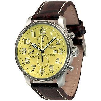 Zeno-watch montre chronographe géant date 10557TVD-a9