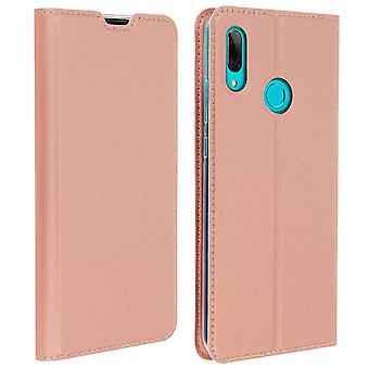Flip wallet case, Business series Huawei P Smart 2019 / Honor 10 Lite Rose gold