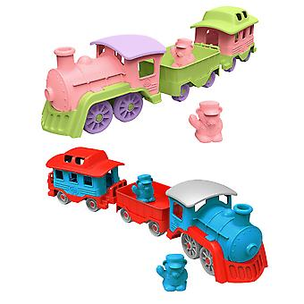 Green Toys Push Along Train Toy BPA Free 100% Recycled Eco Friendly