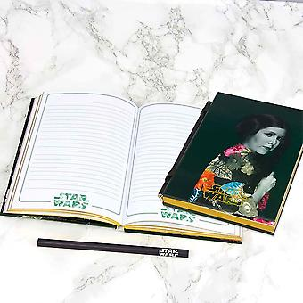 Star Wars Princess Leia Notebook with Pencil