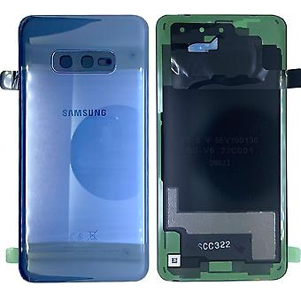 Samsung GH82-18452C battery lid lid for Galaxy S10e G970F + adhesive pad prism blue/Blue New