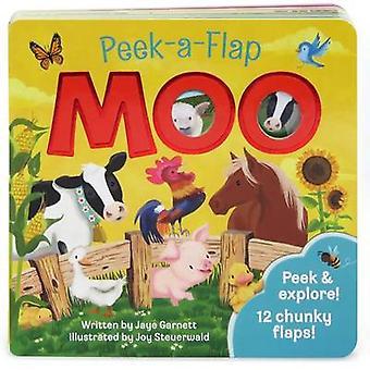 Moo Peek-A-Flap by Jaye Garnett - 9781680521245 Book