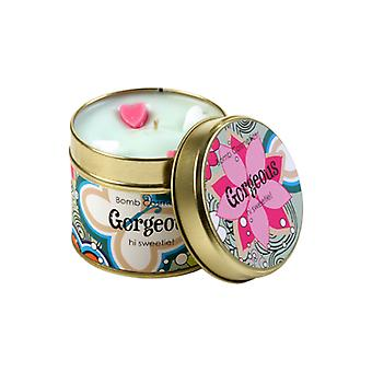 Bomb Cosmetics Tinned Candle - Gorgeous