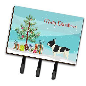 French Bulldog Christmas Tree Leash or Key Holder