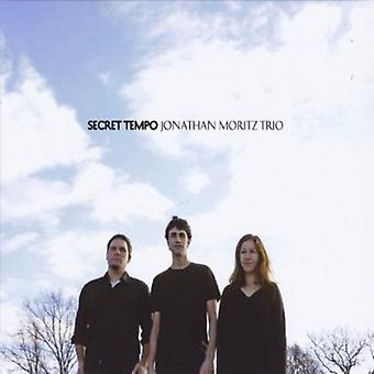 Jonathan Moritz Trio - Secret Tempo [CD] USA import