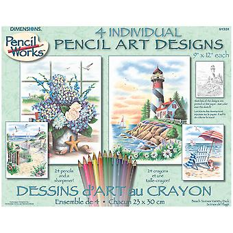 Pencil By Number Kit 9