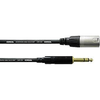 Cordial CIM5 MP REAN XLR Male/6.3mm Jack Microphone Cable (3 m) Cordial CFM3MV