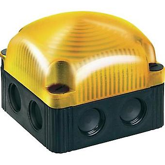 Luz LED Werma Signaltechnik 853.310.55 Flash amarillo 24 Vdc
