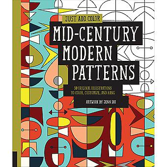 Rockport Books-Mid Century Modern Patterns RKP-39468