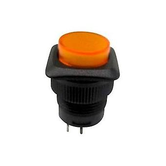 Pushbutton switch 250 Vac 1.5 A 1 x Off/On SCI R13-508BL-05YL latch 1 pc(s)