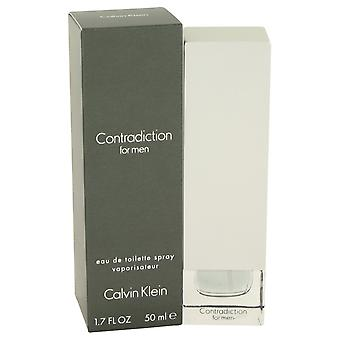 Contradiction By Calvin Klein Edt Spray 50ml