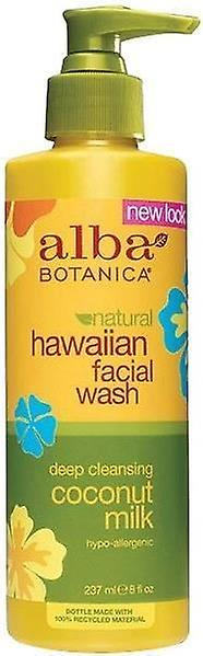 Alba Botanica Natural Hawaiian Facial Wash Deep Cleansing Coconut Milk