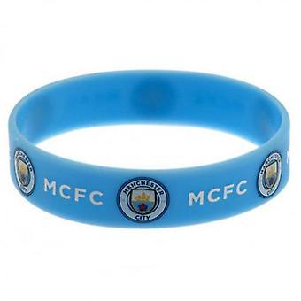 Manchester City bracelet en silicone