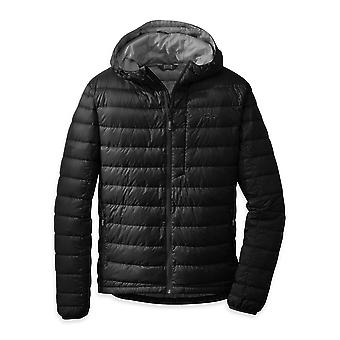 Outdoor Research Mens Transcendent Down Hoody Black (Small)