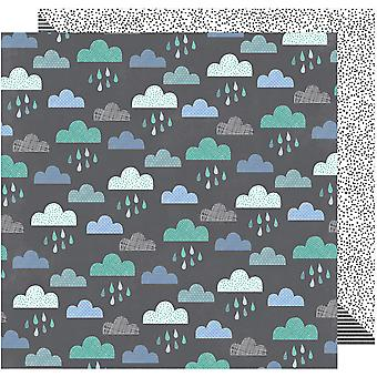 Amy Tan Oh Happy Life Double-Sided Cardstock 12