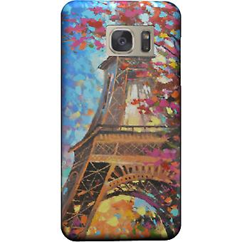 Paris painting cover for Galaxy S7