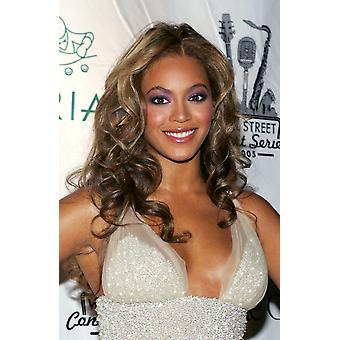 Beyonce Knowles At Arrivals For The Cipriani Wall Street Concert Series Finale With Beyonce Photo Print