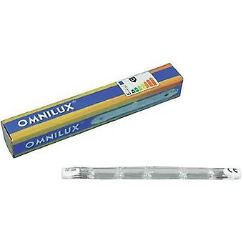 Halogen Omnilux 91100301 230 V R7s 230 W White dimmable