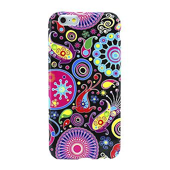 Protective case pouch pouches TPU for phone Apple iPhone 6 colorful motif abstract