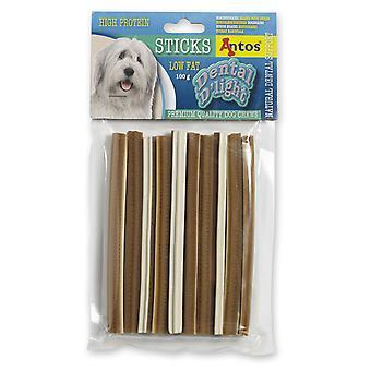 Antos Dental D'light Sticks 100g (pakke med 10)